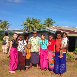 Fiji homestay family