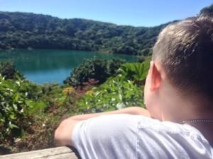 Poas Volcano Lake