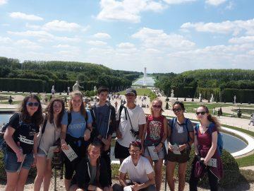 Students visit Versailles