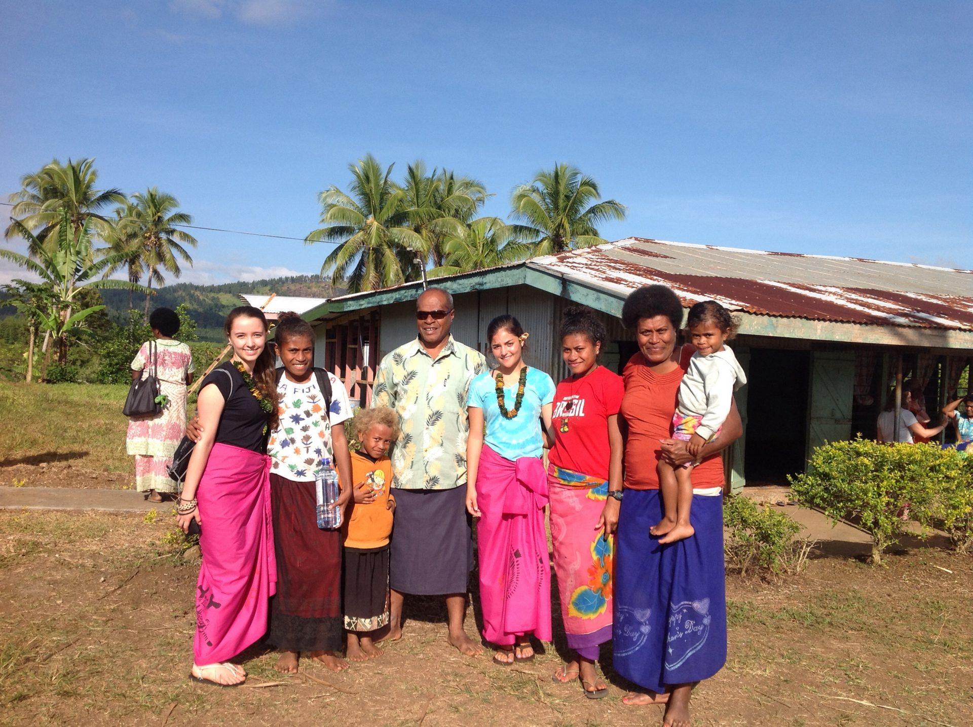 Fiji village homestay