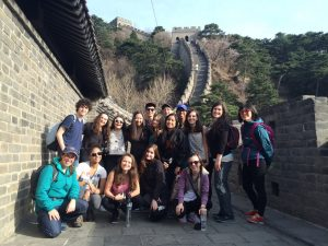 school group travel china