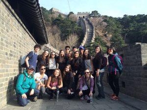 school group travel china