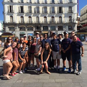 school group travel spain