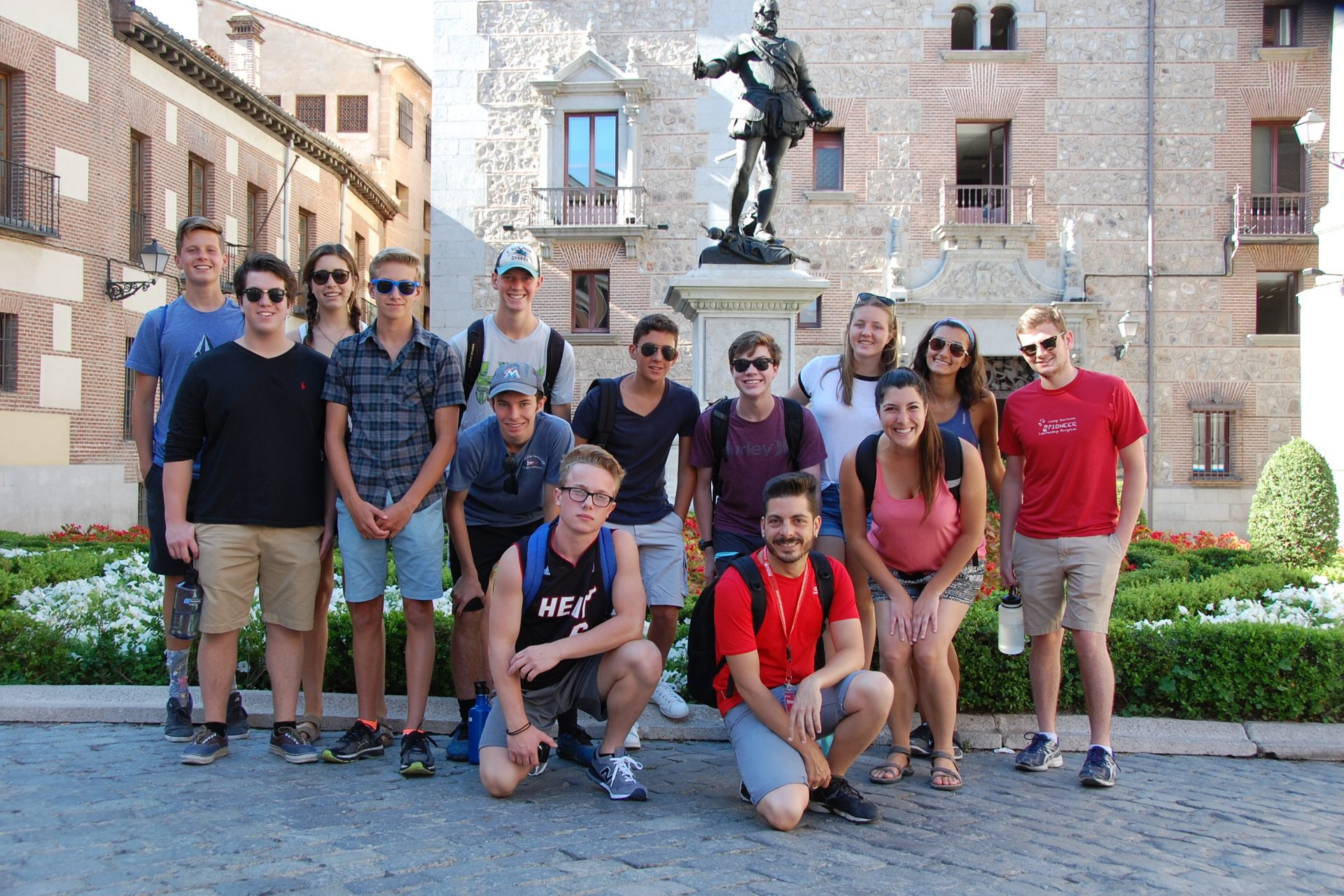 teen leadership travel program spain