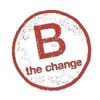 B the Change transparent logo
