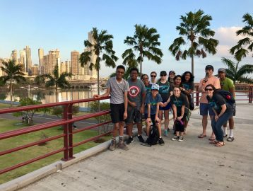 School group trip to Panama