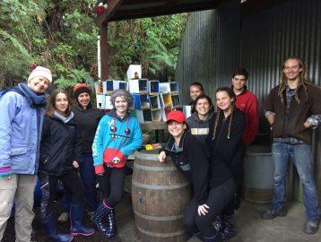 New Zealand Community Service project