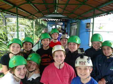 Middle School Costa Rica Zipline